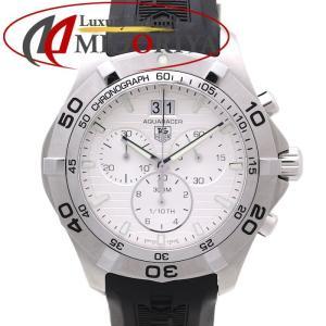 タグホイヤー TAG HEUER アクアレーサー グランドデイト CAF101F.FT8011 ラバー メンズ /35565 【中古】腕時計|phasemidoriya78