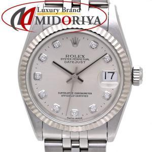 ロレックス ROLEX 68274G デイトジャスト ボーイズ 10Pダイヤ 自動巻き /35574 【中古】腕時計 ユニセックス|phasemidoriya78
