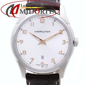 ハミルトン ジャズマスター シンライン メンズ HAMILTON H38511513 クオーツ /35588 【中古】腕時計|phasemidoriya78