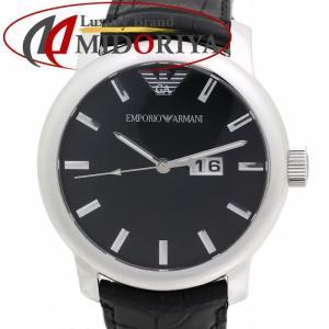 エンポリオアルマーニ EMPORIO ARMANI メンズ レザー AR0428 クォーツ /35604 【中古】 腕時計|phasemidoriya78
