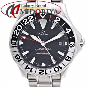OMEGA オメガ シーマスター GMT ジェリーロペスモデル 2536.50 日本999本限定 自動巻き メンズ /35740 【中古】 腕時計|phasemidoriya78