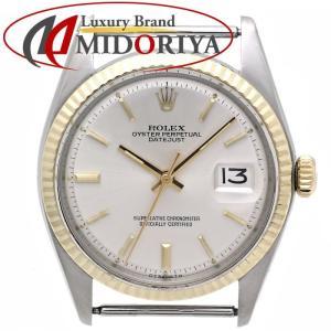 ロレックス ROLEX デイトジャスト 1601 ケースのみ YG/SSコンビ シルバー メンズ /35779【中古】【オーバーホール済】【アンティーク】 腕時計 phasemidoriya78