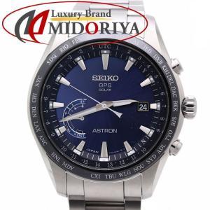 セイコー アストロン SEIKO ASTRON GPSソーラー 衛星電波時計 メンズ ワールドタイム SBXB109 /35810【中古】 腕時計|phasemidoriya78