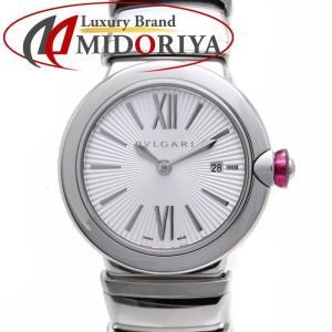 ブルガリ BVLGARI ルチェア クォーツ LU28S LU28C6SSD レディース /35822【中古】 腕時計 phasemidoriya78