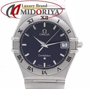 オメガ OMEGA コンステレーション 1512.40 SS クォーツ メンズ ネイビーグレー文字盤 /35836【中古】 腕時計|phasemidoriya78
