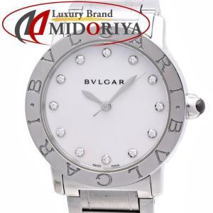 ブルガリ BVLGARI ブルガリブルガリ BBL33WSS/12 シェル ダイヤモンド レディース 自動巻き /35845【中古】 腕時計 phasemidoriya78
