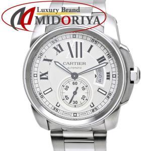 カルティエ CARTIER カリブル ドゥ カルティエ W7100015 シルバー文字盤 メンズ /35859【中古】 腕時計|phasemidoriya78
