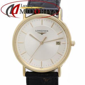 ロンジン グランドクラシック メンズ LONGINES L4.720.2 GP/革ベルト クオーツ /35866【中古】 腕時計|phasemidoriya78