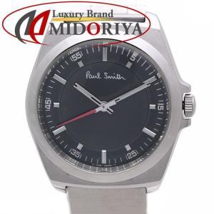 ポールスミス クローズドアイズ メンズ 6038-H24741 SS グレー文字盤 Paul Smith /35868【中古】 腕時計|phasemidoriya78