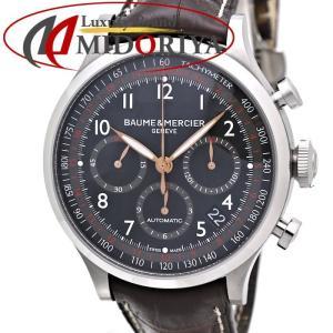 ボーム&メルシェ BAUME&MERCIER ケープランド クロノグラフ MOA10083 メンズ /35872【中古】 腕時計|phasemidoriya78