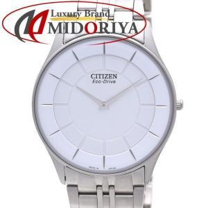 シチズン ステレット エコドライブ CITIZEN STILETTO AR3010-65A ソーラー メンズ /35875【中古】 腕時計|phasemidoriya78