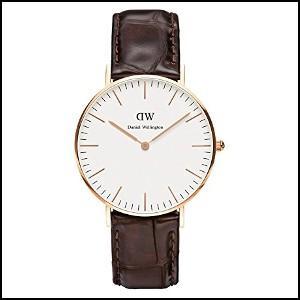 Daniel Wellington ダニエルウエリントン クラシック ヨーク ローズゴールド メンズ レディース 腕時計 36mm 0510DW