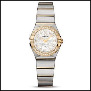 オメガ  コンステレーション ブラッシュ  クォーツ 時計 レディース 腕時計  123.25.24...