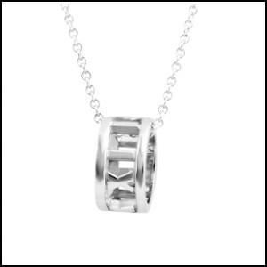 Tiffany& Co. ティファニー 35540954 アトラス オープン ペンダント スモール SS ネックレス