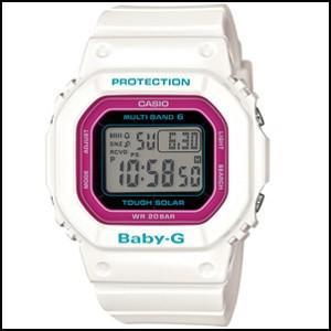 カシオ ベイビーG トリッパー ソーラー 電波 レディース 腕時計 マルチバンド6 BGD-5000-7CJF