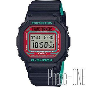 カシオ G-SHOCK トランスフォーマー コラボモデル クォーツ メンズ 腕時計 DW-5600T...