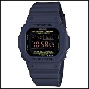 カシオ G-ショック ネイビーブルー ソーラー 電波 時計 メンズ 腕時計 GW-M5610NV-2...