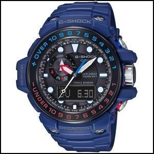 カシオ G-ショック ガルフマスター ソーラー 電波 メンズ デジアナ 腕時計 GWN-1000H-2AJF