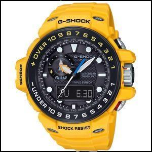 カシオ G-ショック ガルフマスター ソーラー 電波 メンズ デジアナ 腕時計 GWN-1000H-9AJF