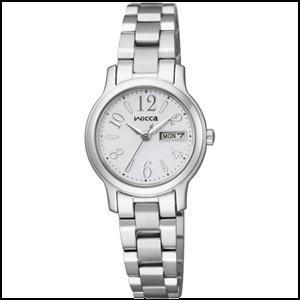 シチズン ウィッカ  ソーラーテック 時計 レディース 腕時計  KH3-410-11...