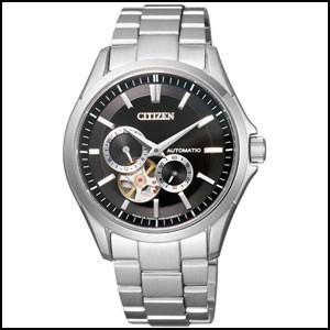 NP1010-51E CITIZEN シチズン シチズンコレクション メンズ腕時計 オープンハート メカニカル 自動巻き 国内正規品