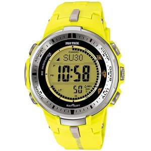 PRW-3000-9BJF CASIO カシオ プロトレック メンズ腕時計 ソーラー電波時計 マルチバンド6 トリプルセンサーVer.3 登山 キャンプ 釣り 国内正規品