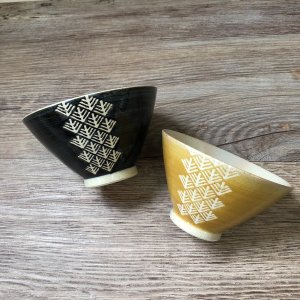 【送料無料】-KOGIN-こぎん 夫婦茶碗セット 食洗機、レンジ対応 0014KGN001 ご自宅用 2個組|phezzan