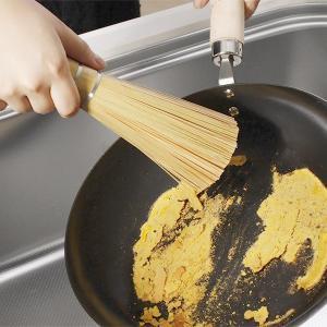 【先着順8%OFFクーポン配布中】鉄のフライパンや中華鍋の掃除道具 天然竹ササラ|phezzan