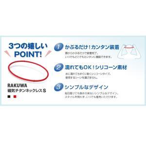 ファイテン RAKUWA磁気チタンネックレスS|phiten|04