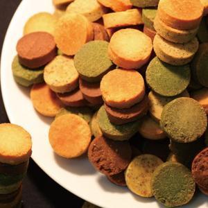 お豆腐屋さんのおからを使用した紅茶・抹茶・プレーン・ココアの4つの味の豆乳おからクッキーです。製造国...