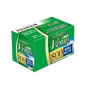 富士フイルム カラーネガフィルム フジカラー SUPERIA  Venus 800 27枚撮り