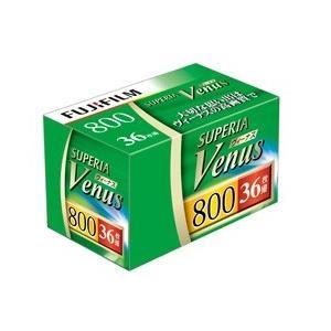 富士フイルム カラーネガフィルム フジカラー SUPERIA  Venus 800 36枚撮り