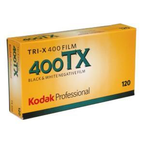 コダック  プロフェッショナル  トライ-X 400 /400TX-120-5P (白黒フィルム)(モノクロフィルム)(ブローニー)|photo-station