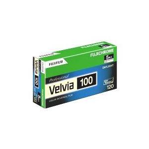 富士フイルム フジクローム Velvia 100 120 VELVIA100 EP NP 12EX 5本パック(ベルビア100 RVP100 リバーサルフィルム)|photo-station
