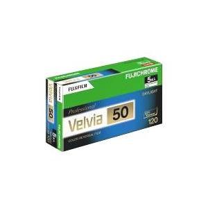 富士フイルム フジクローム Velvia 50 120 VELVIA50 EP NP12EX 5本パック (ベルビア50 ブローニー リバーサルフィルム)|photo-station