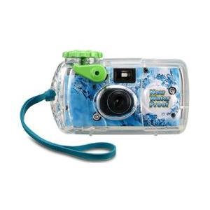 ・もっと楽しくもっと深く水中でも写ルンです!  水深10mまでの水中写真が手軽に楽しめる防水カバー付...