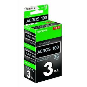 富士フイルム ネオパン 100 ACROS NP 135-36EX 3SB ISO100 36枚撮り3本パック (白黒フィルム)(FUJIFILM フジフィルム)|photo-station