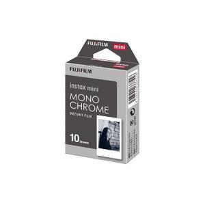 富士フイルム instax mini MONOCHROME チェキ専用フィルム モノクローム (メール便発送のため代引き不可)|photo-station