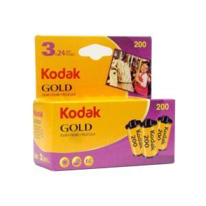 コダック ゴールド 200 24枚撮り 3本パック (kodak GOLD 200 カラーネガフィル...