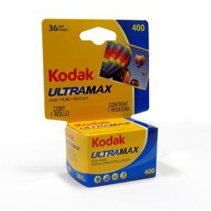 コダック ULTRA MAX 400 ISO400 135 36枚撮り 単品  Made in U....