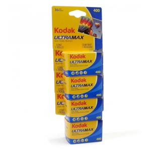 コダック ULTRA MAX 400 ISO400 135 36枚撮り 4本セット  Made in...