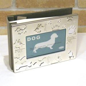 ドッグ アルバムフォトフレーム・ポストカード判サイズx100枚ストック 0716-22|photo-tk
