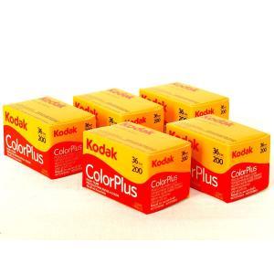 【5本セット】コダック Color Plus 200-36枚撮 <135/35mmネガカラーフィルム...