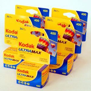 【5本セット】コダック ULTRA MAX 400-36枚撮 <135/35mmネガカラーフィルム> ISO感度400|photoland