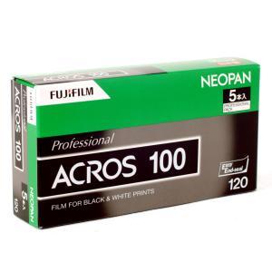 2018-3期限 【5本入】アクロス/ACROS Pro 黒白 <ブローニー120> フジフィルム|photoland