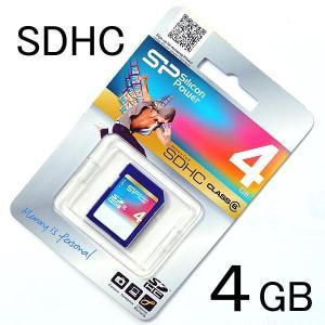 【4GB】SDHCカード <CLASS 6> シリコンパワー/SILICON POWER製 photoland