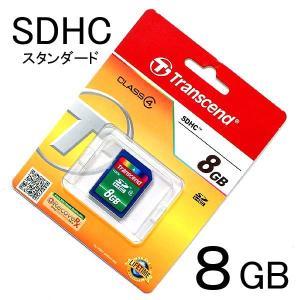 [クロネコDM便 送料無料] 【8GB】SDHCカード <CLASS 4> トランセンド/Transcend製 photoland