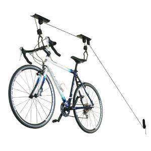 【B031】自転車用 天井吊り下げリフト式 ストレージ ラック / ロードバイク マウンテンバイク等の収納・ディスプレイに!|photolife