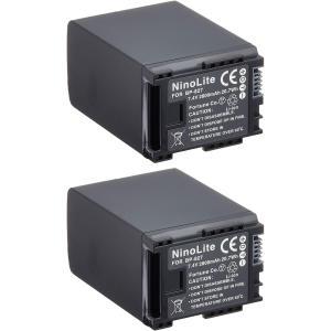 キヤノン(Canon) BP-827/BP-827D互換バッテリー 2個セット