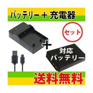 DC106 USB型充電器VW-BC10-K+パナソニック VW-VBK180/VW-VBK180-K互換バッテリーのセット